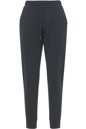 Tom Ford Uomo Pantaloni - Pantaloni In Felpa Di Cotone Tinta Vintage
