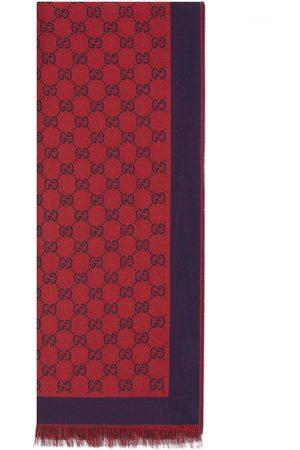 Gucci Stola in cotone GG jacquard