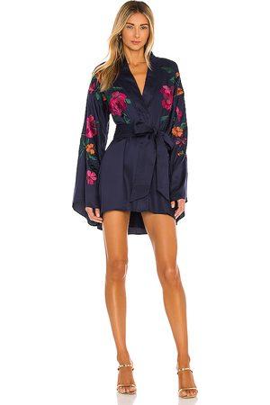 House of Harlow X REVOLVE Mika Kimono Mini Dress in - . Size L (also in M, S, XL, XS, XXS).