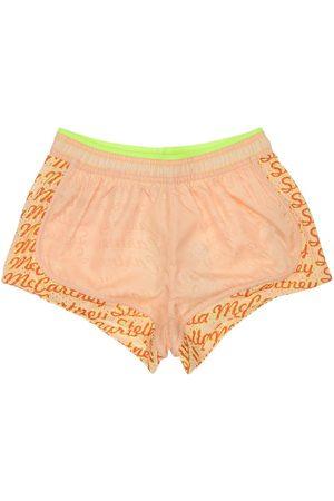 Stella McCartney Bambina Pantaloncini - Shorts Con Inserti In Airtex