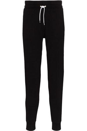 Maison Kitsuné Pantaloni sportivi con applicazione
