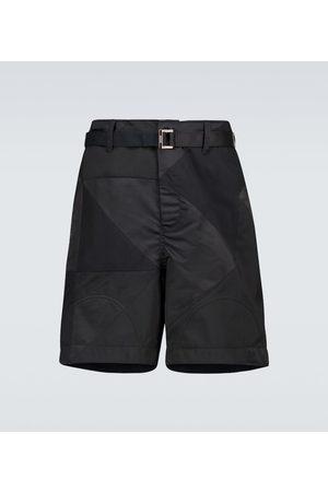 SACAI Shorts Hank Willis Thomas Solid Mix
