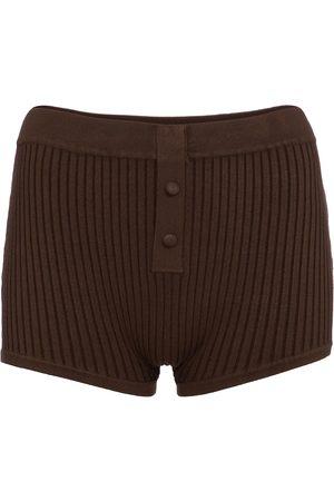 LIVE THE PROCESS Shorts a costine in maglia