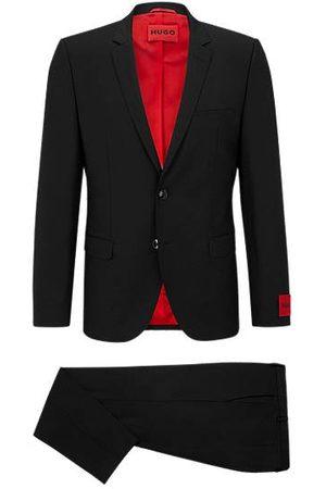 HUGO BOSS Extra-slim-fit suit in a super-flex wool blend