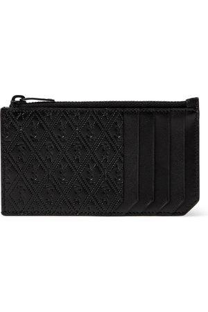 Saint Laurent Uomo Portafogli e portamonete - Monogram-Debossed Leather Cardholder