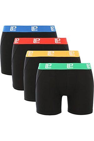 Lower East Boxer short da uomo soft comfort, confezione da 4, colore