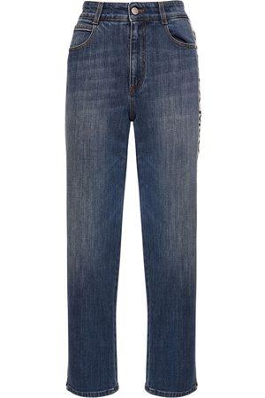 Stella McCartney Jeans Cropped In Eco Denim
