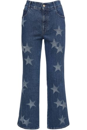 Stella McCartney Jeans Cropped In Di Cotone