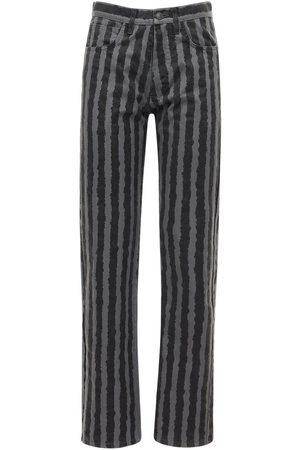 Kenzo Pantaloni In Twill Di Cotone