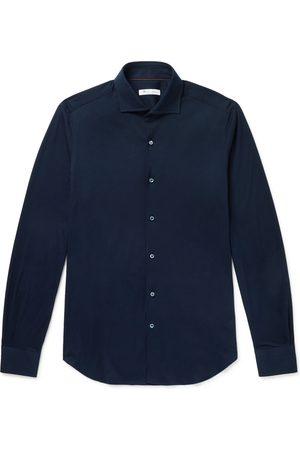 Loro Piana Uomo Casual - Slim-Fit Cotton-Jersey Shirt