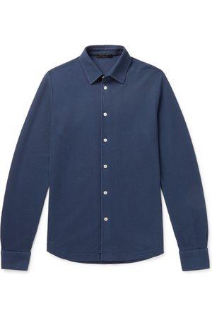 Loro Piana Uomo Casual - Cotton-Piqué Shirt