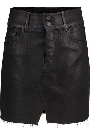 GRLFRND Minigonna di jeans Evie a vita alta