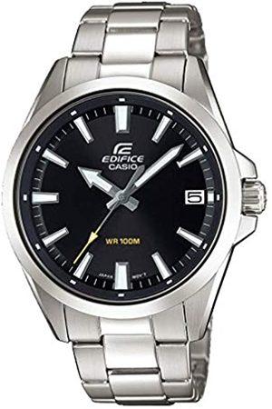 Casio EDIFICE Orologio, Robusta Cassa, 10 BAR, , Uomo con Cinturino in Acciaio Inox EFV-100D-1AVUEF