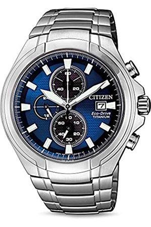 Citizen Orologio Analogico Quarzo Uomo con Cinturino in Titanio CA0700-86L
