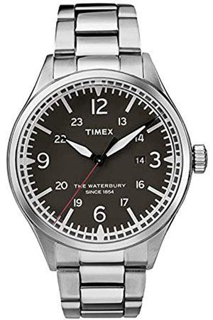 Timex Orologio Analogico Quarzo Uomo con Cinturino in Acciaio Inox TW2R38700