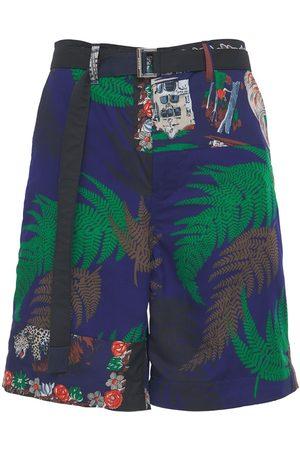 SACAI Shorts In Techno Con Cintura