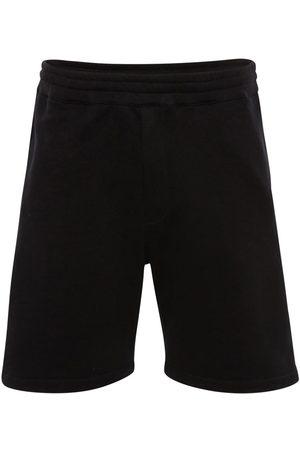 Alexander McQueen Shorts In Felpa Di Cotone