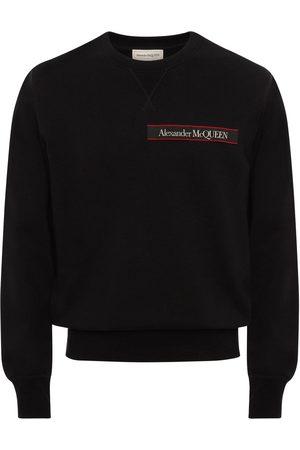Alexander McQueen Felpa In Cotone