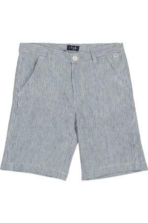 Il gufo Shorts a righe in lino