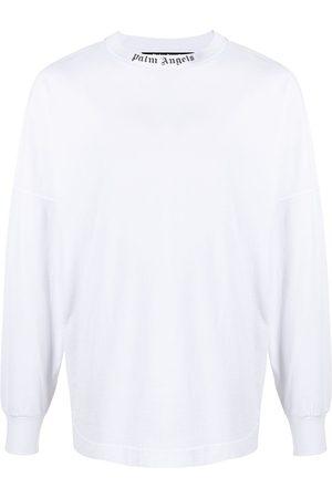 Palm Angels T-shirt a maniche lunghe