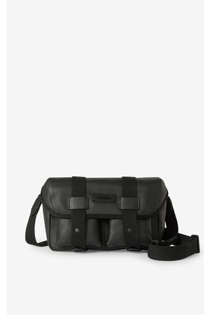 Kenzo Trek grained leather belt bag