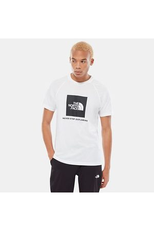 The North Face The North Face T-shirt A Maniche Raglan Uomo Redbox Tnf White
