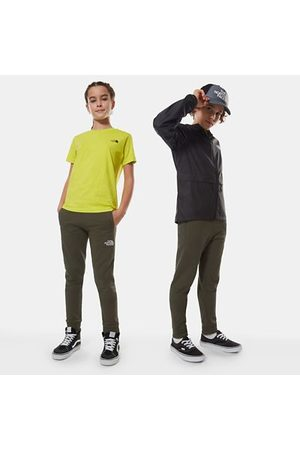 The North Face The North Face Pantaloni Felpati Bambini New Taupe Green/tnf White