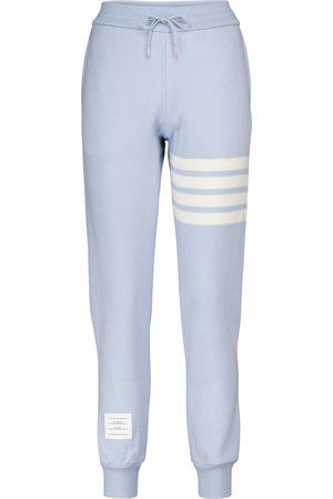 Thom Browne Pantaloni sportivi in misto cashmere