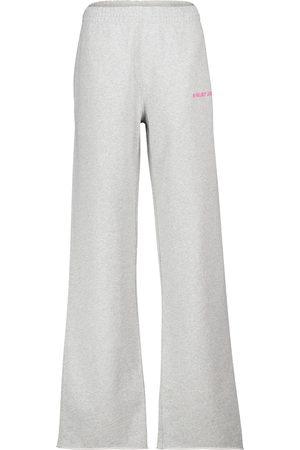 Helmut Lang Pantaloni sportivi in cotone