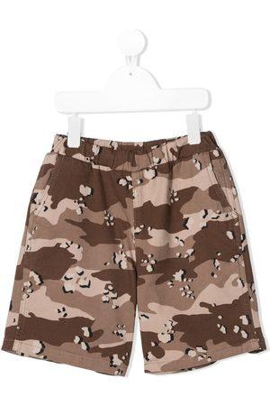 DOUUOD KIDS Costume da bagno con stampa camouflage