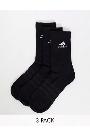 adidas Adidas - Training - Confezione da 3 paia di calzini neri