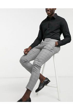 ASOS Pantaloni eleganti super skinny a quadri Principe di Galles