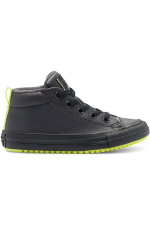 Converse Stivali - Leather & Reflective Chuck Taylor Street Boot
