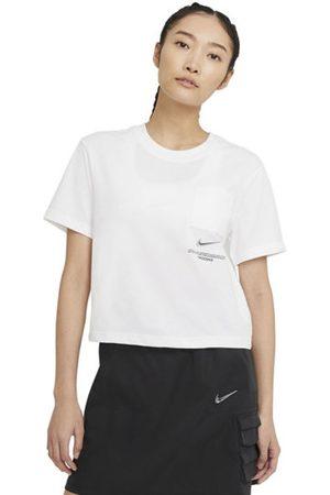 Nike Sportswear Swoosh - T-shirt - donna. Taglia L