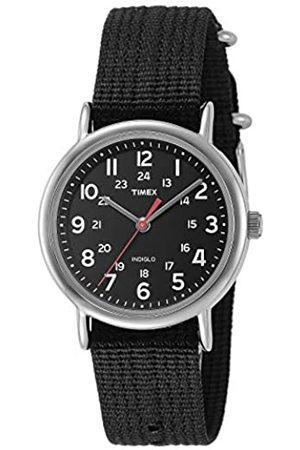 Timex T2N647 Orologio da Polso al Quarzo, Analogico, Uomo, Tessuto