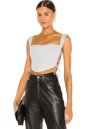 DANIELLE GUIZIO Classic Fitted Corset in - Baby . Size L (also in M, S, XS).