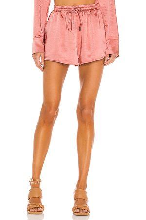 Camila Coelho Estella Short in - Pink. Size L (also in XS, S, M, XL).
