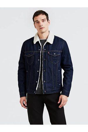 Levi's Uomo Giacche di jeans - The Sherpa Trucker Jacket Neutral / Rockridge