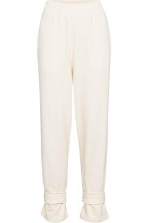 Frankie Shop Pantaloni sportivi in cotone