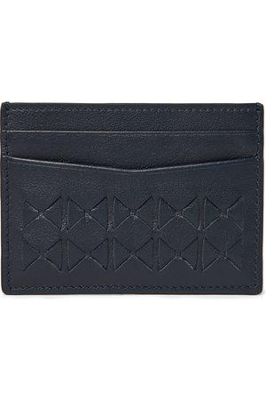 SERAPIAN Woven Leather Cardholder
