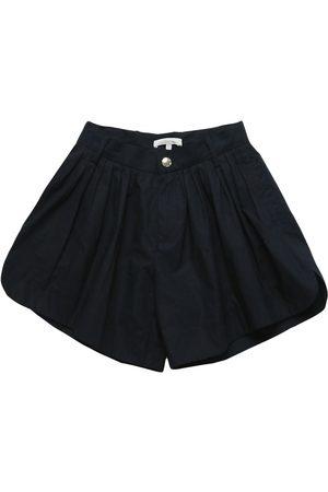 Chloé Shorts In Popeline Di Cotone