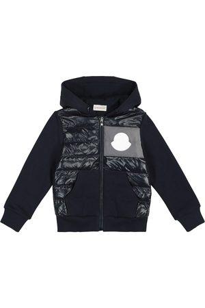 Moncler Cardigan in lana con imbottitura
