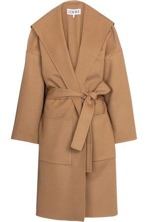 Loewe Cappotto in lana e cashmere