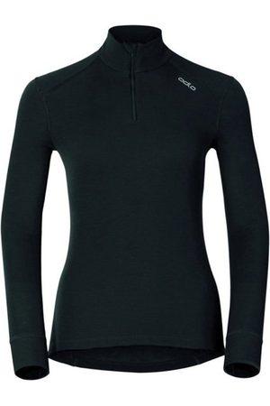 Odlo Shirt L/S Warm Zip W's. Taglia L