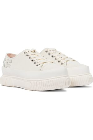 MONSE X both - Sneakers in velluto con platform