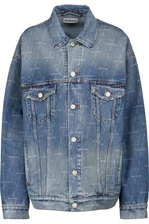 Balenciaga Giacca di jeans con logo