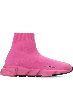 """Balenciaga Sneakers """"speed"""" In Maglia Riciclata"""