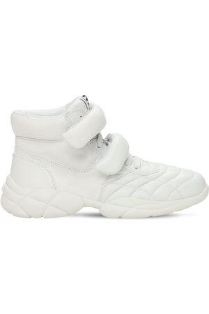 Miu Miu Sneakers In Pelle 20mm