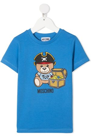 Moschino T-shirt con stampa Teddy Bear