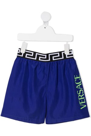 VERSACE Shorts con stampa